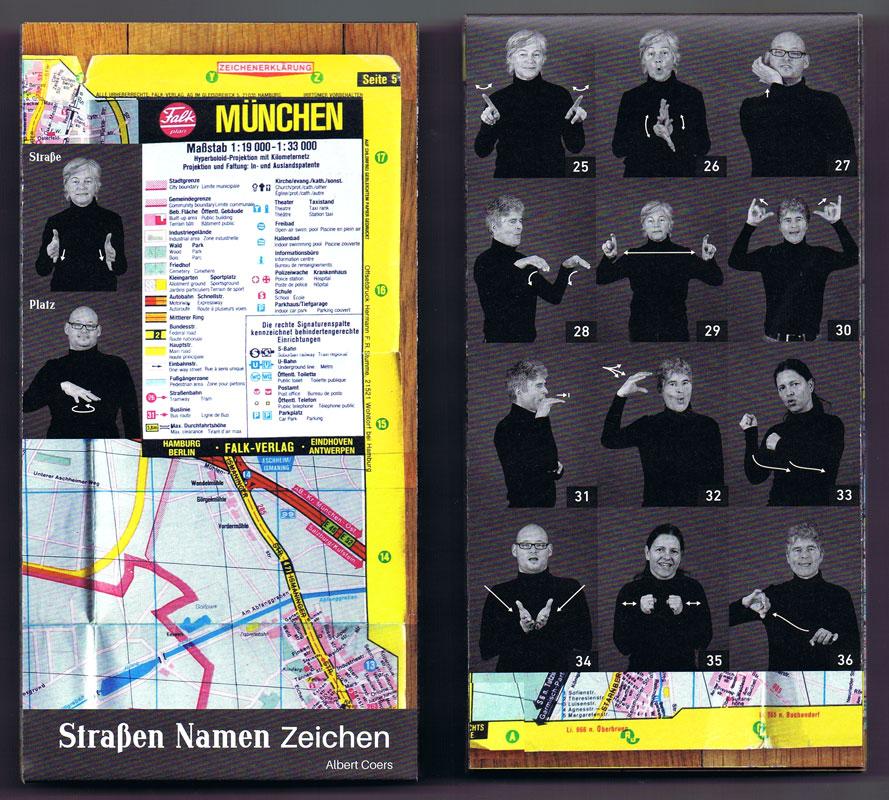 Cover Albert Coers: Straßen Namen Zeichen
